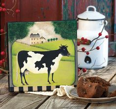 The Prim Painted Cow, by Susan Cochrane.