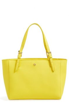Tory Burch 'Small York' Leather Tote available at #Nordstrom