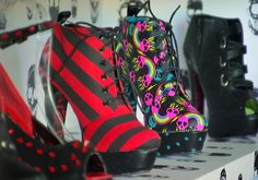 "Avril Lavigne's ""Abbey Dawn"" shoe line for #JustFab adds a little Punk Rock to the mix! #StyleNetwork #HouseOfFab"