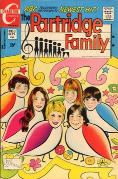 The Partridge Family comic book.  This one looks familiar - I may have had this!
