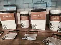 Delicious and yummy chocolate lifestyle mix to incorporate thrives 1,2,3! Increased energy, mental clarity, digestive support, aids in weight loss, lean muscle mass!! Trishascheer.le-vel.com