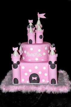 Something like this only in Styrofoam and royal icing so she could keep it. I'd hate to get her a beautiful cake and everyone be able to eat it but her. :(