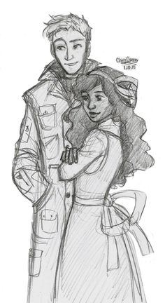 Jake Grimm and Briar Rose Character Inspiration, Character Art, Character Design, Drawing Reference Poses, Art Reference, Grimm Series, Lockwood And Co, Couple Sketch, Disney Princess Pictures