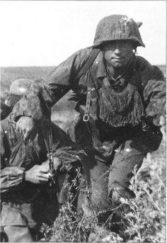 Ostfront SS sniper team