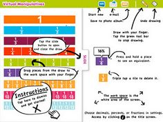 Virtual manipulatives for ipad - app store teaching fractions, math fractions, teaching math, Teaching Fractions, Math Fractions, Teaching Math, Maths, Math Resources, Math Activities, Classroom Resources, Ipod Touch, Free Math Apps