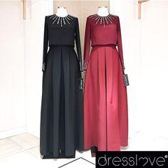 Dresslove'ın muhteşem kış koleksiyonundan sadeliği ve şık detayları ile özel günlerinize eşlik edecek Escada Dress ✨ #dresslove #dresslove_official #dressloveclassy #eveningdress #prom #promdress #romanticdress #pure #elegant #glamour #chic #modern #fashion #hijab #hijabdress