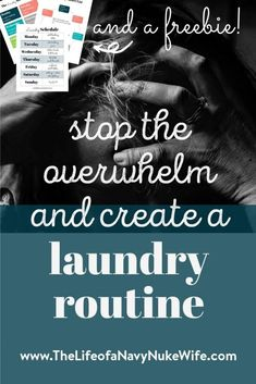 A Laundry Schedule So Simple You'll Never Fall Behind Again (+Free Printable) Laundry got you down? Need a family laundry routine? I'm tired of falling behind and having huge loads of laundry unfolded everywhere. Mom Hacks, Baby Hacks, Good Habits, Healthy Habits, Laundry Schedule, Overwhelmed Mom, Social Anxiety Disorder, Silly Questions, I'm Tired