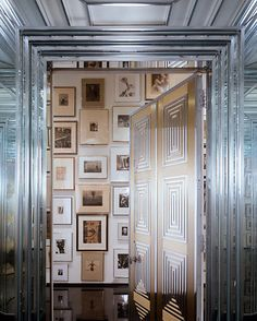 What a glamorous entryway!