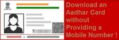 Download an Aadhaar Card without Providing a Mobile Number Aadhar Card, Numbers, Cards, Map