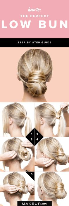 How To: The Perfect Low Bun Hair Tutorial @Makeup.com