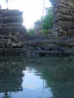 The city of Nan Madol was built between 200 B.C. – 800 A.D., on a coral reef near Micronesia. It consisted of about 100 artificial islands made from huge basalt blocks and connected with viaducts. From the start, it dazzles us with a mix of the bizarre and grandeur. From the start it seems incongruous; 250 million tons of offshore basalt in the middle of nowhere.
