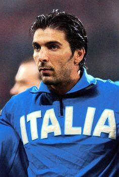 Gianluigi Buffon, amor a primera vista :D