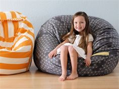 Giant floor cushions tutorial.  Rollie Pollie!   So You Think You're Crafty