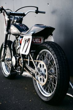 Yamaha 500TT American Dirt Track Racer. | Deus Ex Machina | Custom Motorcycles, Surfboards, Clothing and Accessories
