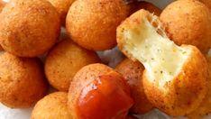 Krokety plněné sýrem