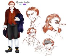 The angry chihuahua. Well, this is my custom of Alexander Hamilton y' know, I wanted to made some full body of him and here we gooo I'll do some comics . Alexander And Eliza, Alexander Hamilton, Hamilton Drawings, Lams Hamilton, History Jokes, Hamilton Fanart, Lin Manuel Miranda, Les Miserables, New Chapter