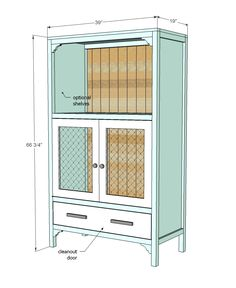 Ana White | Build a Chick Brooding Cabinet | Free and Easy DIY Project and Furniture Plans