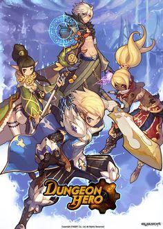 [던전히어로 : 이야소프트] : 네이버 블로그 Gaming Banner, Fantasy Characters, Fictional Characters, Game Concept Art, Game Logo, Art Studies, Anime Chibi, Art Music, Amazing Art