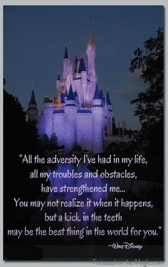 Quoting Walt Disney