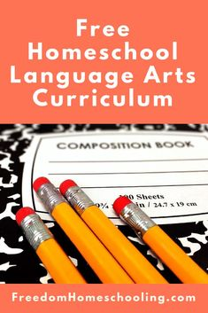 Freedom Homeschooling | Free Homeschool Language Arts Curriculum