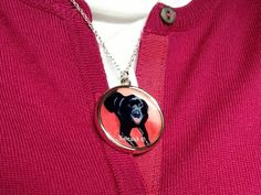 """Click photo for larger view. Click photo for larger view. """"I purchased it for myself in memory of my beloved Black Labrador Noiraud . Washer Necklace, Pendant Necklace, Black Labrador, Click Photo, Product Review, Real Life, Larger, Photos, Shopping"""