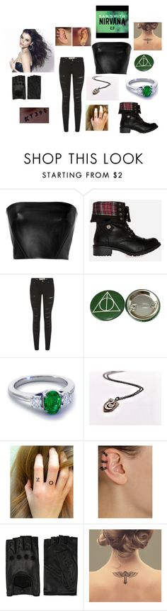 """""""Chapter One: Nirvana (Released From Azkaban)"""" by laugh416 ❤ liked on Polyvore featuring David Koma, Steve Madden, Parisian, Vince, Blue Nile, Repossi and AGNELLE"""