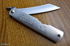 Higonokami Traditional Japanese Pocket Knife by Brian's Backpacking Blog, via Flickr