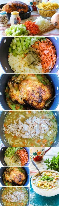 World's Best Chicken Noodle Soup