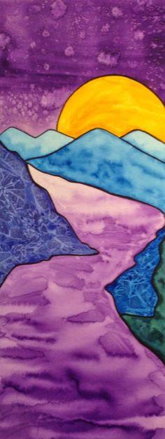 Watercolor Technique Landscapes - A Space to Create