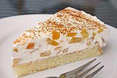 Pfirsich-Schmand-Kuchen (Rezept mit Bild) von ManuGro | http://Chefkoch.de