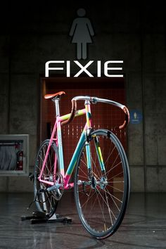 colorfuuuul #fixie One for the girls