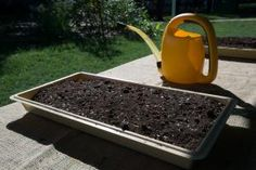 Learn how to make more of the things that you use, and cut your dependence on store-bought goods.: Gardening Supplies