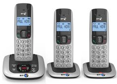 BT 3520 Trio Digital Cordless Phone with Answer Machine