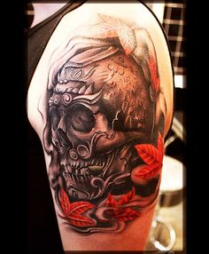 Badass Crazy Skull Tattoos (40)