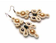 Malibu earrings - Sutasz-Anka http://www.soutage.com/2013/03/malibu-kolczyki.html