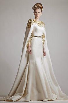 Modest Zuhair Murad 2019 Gold Appliques Satin Mermaid Dress Evening Wear With Wrap Sweep Train Saudi Arabic Evening Dresses Evening Dresses, Prom Dresses, Formal Dresses, Wedding Dresses, Dresses 2013, Gown Wedding, Formal Wear, Bridal Gowns, Formal Prom