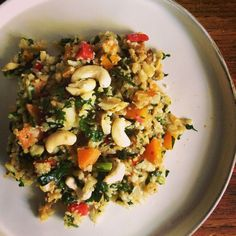 Thermomix cauliflower fried rice recipe by dani valent