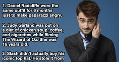 35 Amazing And Little Known Facts About Famous Celebrities. No Pictures, Please!