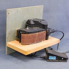 Learn how to Convert your Belt Sander to a Bench Sander. #tools #woodworking