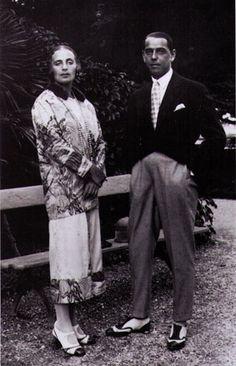Tamara and her husband, 1918-23