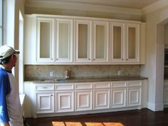 This is what a job-built kitchen looks like after phase one ...