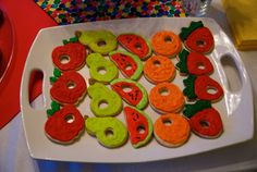 @Jamie Wise Stankewicz - click the photo to see some awesome hungry caterpillar birthday party ideas!! Thought of you...