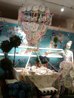 Macy's Butterfly Meadow Collection Display