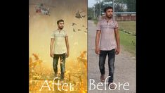Photo Editing | Photo Background Change with Photoshop PS6