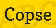 Copse Free Font Free Fonts Free Graphic Design Resource Serif Slab Serif TTF Typeface Typography Web Font