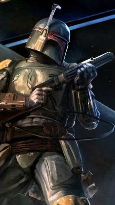 Star Wars based art. Boba Fett; Wanted Dead or Alive