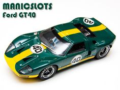 Slot Car, Scalextric, Ford GT40