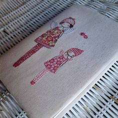 embroidered journal by lili_popo, via Flickr