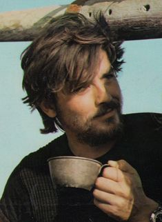 Alain Delon clipping 60's with beard (minkshmink)