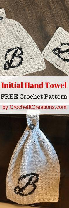 Initial Hand Towel